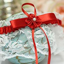 """Подвязка для невесты """"Луиза"""""""