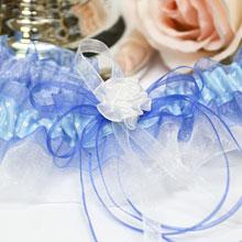 """Подвязка для невесты """"В облаках"""""""