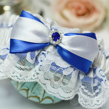 Подвязка для невесты Афродита (с кружевом)