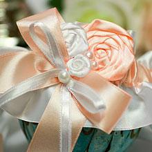 Подвязка для невесты Медовый леденец