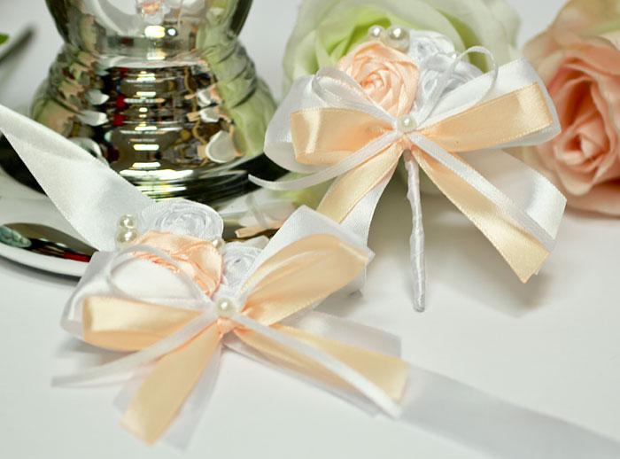"""Набор свадебных аксессуаров для свидетелей """"Медовый леденец"""""""