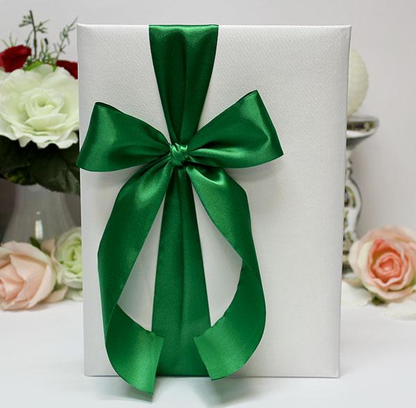 Свадебная папка о браке Paradise для свидетельства (формат А4) (зеленый)