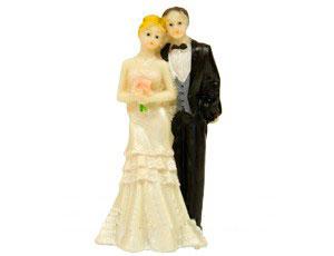 """Фигурка для торта на свадьбу """"Жених и невеста"""" (12 см)"""