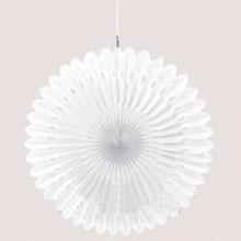 Декорация-фант для оформления помещений (40 см, белый)