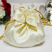 """Сумочка свадебная для невесты """"Дива"""" (лимонный)"""