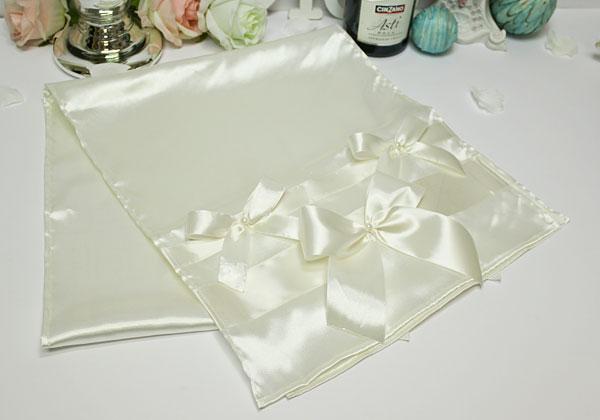 Свадебный рушник Paradise (айвори (атлас)