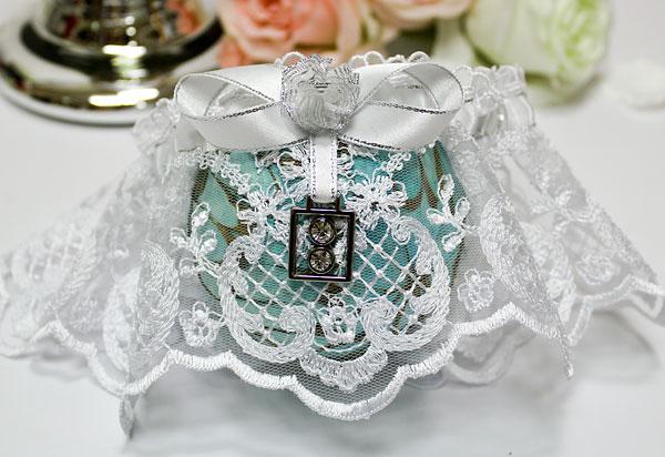 """Подвязка для невесты на свадьбу """"Дуэт"""""""