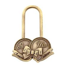 """Замочек любви без ключей """"Я и ты"""""""