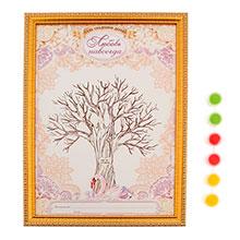 """Дерево пожеланий в рамке """"Любовь навсегда"""""""