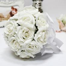 """Букет-дублер для невесты """"Очарование"""" (белый)"""