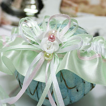 """Подвязка для невесты """"Яблоневый цвет"""""""