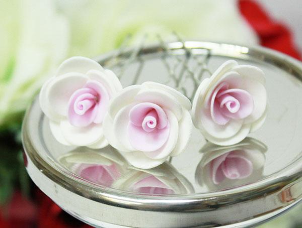Свадебная шпилька Соблазн (розовый)