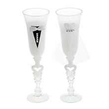 """Свадебные бокалы для молодоженов """"Идеальная пара"""" № 5 (2 шт)"""
