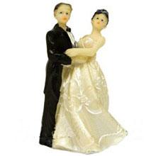 """Фигурка для торта на свадьбу """"Танец"""" (8,5 см)"""