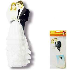 """Украшение на стол """"Жених и невеста"""" (29 см)"""
