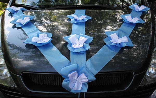 Свадебные аксессуары для машины своими руками