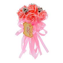 """Букет-дублер для невесты """"Очарование роз"""" (розовый)"""