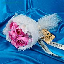"""Букет-дублер для невесты """"Романтик"""" (темно-розовый)"""