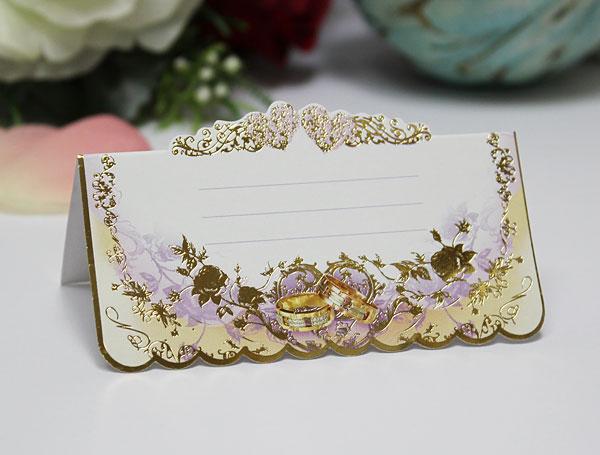 """Рассадочная  карточка для гостей на свадьбу """"Волшебный сон"""""""