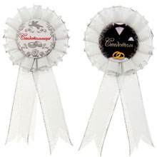 Свадебные медали для свидетеля и свидетельницы (2 шт)