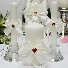 """Свадебный семейный очаг """"Рубиновое сердце"""""""