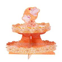 """Подставка для пирожных, канапе """"Любовь и голуби"""" (высота - 30 см)"""