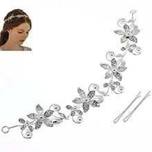 "Мягкий ободок для невесты ""Pearl flower"""