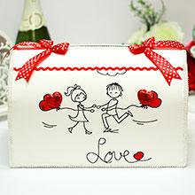 """Свадебная копилка для конвертов """"Это любовь"""""""