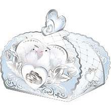 """Бонбоньерка для подарков """"Королевские голуби"""""""