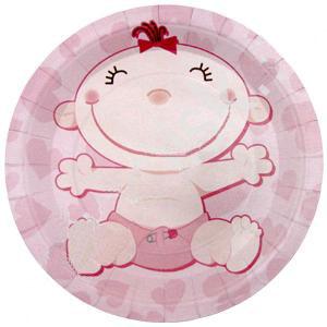 "Упаковка тарелок ""Малышка"" (6 шт, 23 см)"