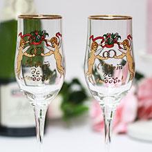 """Свадебные бокалы """"Для двоих"""" (2 шт)"""