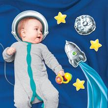 """Набор для детской фотосессии """"Юный космонавт"""""""