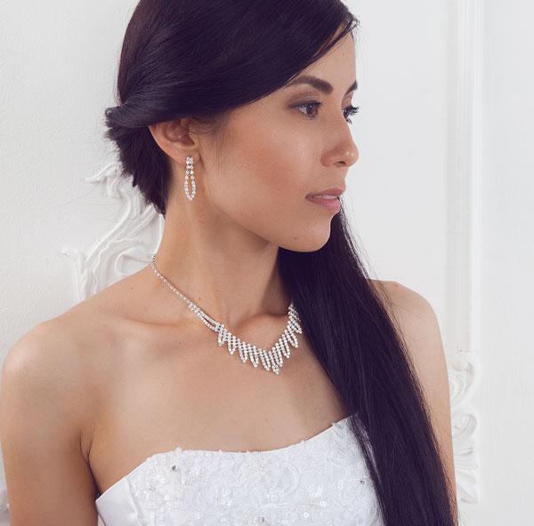"""Свадебная бижутерия для невесты """"Селия"""""""
