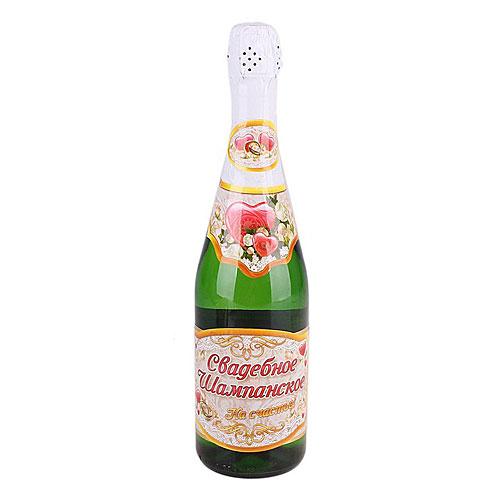 "Набор наклеек на бутылку ""На счастье"""
