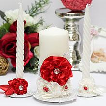 """Домашний очаг + 2 свечи """"Марокканские розы"""""""