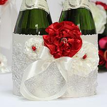 """Чехол для шампанского """"Марокканские розы"""""""