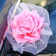 """Бутоньерки на авто """"Style"""" (2 шт.) розовый"""