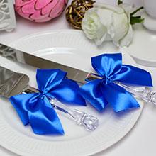 Сервировочный набор для торта Paradise (синий)
