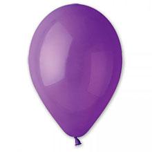 Воздушный шар - фиолетовый, 30 см