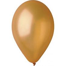 Воздушный шар - золотой, 30 см