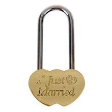 "Замочек для молодоженов ""Just married"" (без ключей)"
