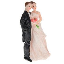 """Фигурка для торта на свадьбу """"Молодожены"""" (12 см)"""