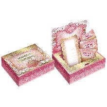 """Памятная коробочка """"Мамины сокровища"""" (розовая)"""