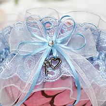 """Подвязка свадебная для невесты """"Ключик от сердца"""""""