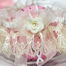 """Свадебная подвязка для невесты """"Майя"""""""