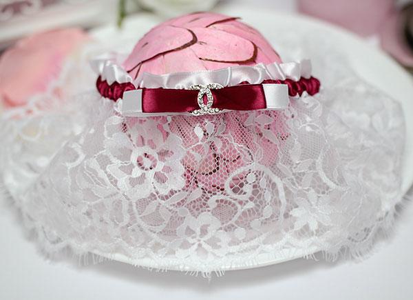 """Свадебная подвязка """"Шантильи"""""""