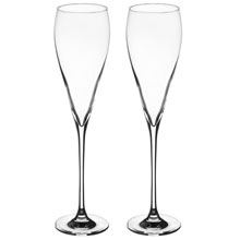 """Свадебные бокалы для шампанского """"Элегантные"""" (2 шт)"""