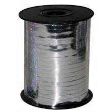 Оформительская лента (цена за метр, серебристая)