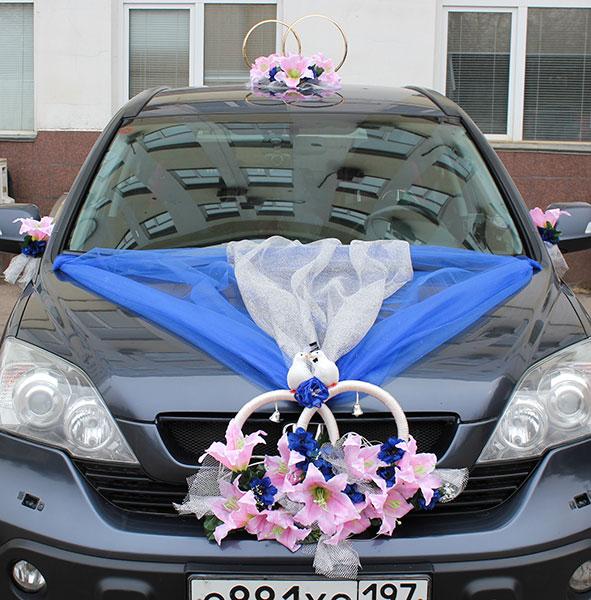 """Набор свадебных украшений на машину """"Вдохновение"""""""