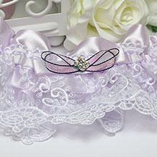 """Подвязка для невесты """"Весна"""""""